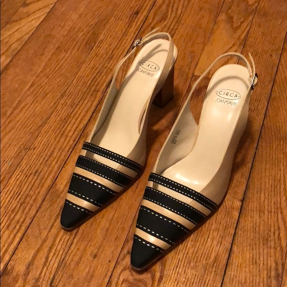 11d2bf30ade8 Circa Joan   David leather heel